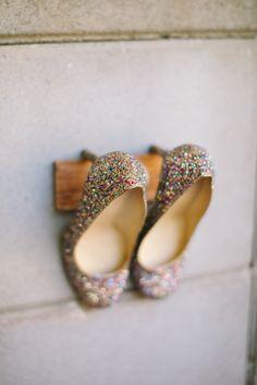 Bride Wedding Glitter Shoes Sparkle Kate Spade