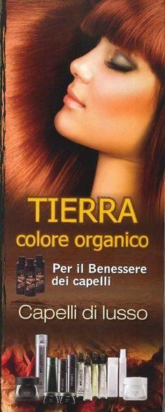 """Chi tiene veramente ai propri capelli sceglie Tierra by Fuente, IL VERO COLORE ORGANICO che non danneggia i capelli perché utilizza Acido Oleico al posto dell'ammoniaca. Noi lo chiamiamo """"il rito di benessere per i capelli""""… e voi? Non volete provarlo?"""