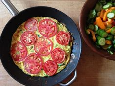 Zucchini and Tomato Frittata - Sweet & Savory Kitchens