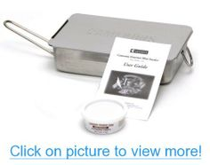 Camerons Products Stainless Steel Stovetop Smoker