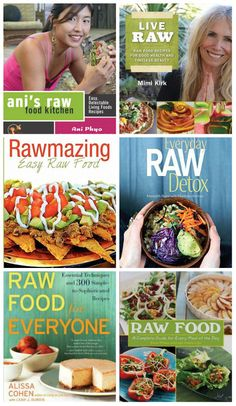 GET #RAW - top rated books for a raw diet. You should click here to see my Riffle list.