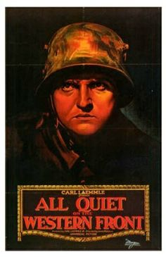 All Quiet on the Western Front (1930)  Lewis Milestone's ground-breaking sound film epic treats WWI not as an allegory, as many of its predecessors had, but as a painfully human story, showing the hopes and fears of a group of young men being thrust into battle. While in no way an obscure film, it had been cut to ribbons by a variety of editors over the years until it was merely a shell of its former self. It has now been restores by the Library of Congress over a five year period.