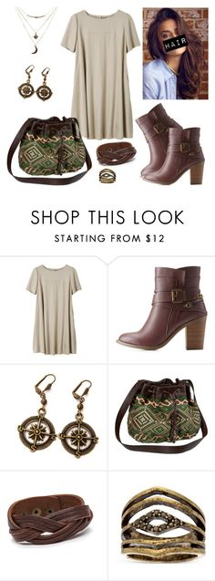 """""""Untitled #274"""" by asgardianka on Polyvore featuring Charlotte Russe, Old Navy and Steve Madden"""