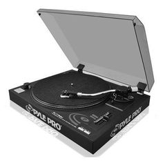 � Belt Drive Turntable�  /-10% Variable Pitch Slider� USB Connection for Conversion of Vinyl to Digital Media� Internal Stereo Phone Pre Amplifier� Plug Directly to Computer (PC)� Audacity Recording Software Included� Line Level RCA Outputs with Built-in Preamp� Fully Adjustable Counter Weight