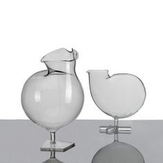 Funny Fauna Bird Decanter- Bird is the word.  This chic chick designed by design studio Fabrica for Secondome will give your guests something to crow about.