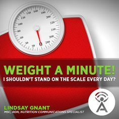 WEIGHT a minute! Listen to newest Isagenix Podcast that explains that the scale is only a measurement of your weight, not your overall body composition.
