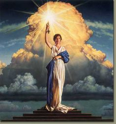 Artwork by Michael Deas.  My friend Michael painted this 20 years ago. and it remains the columbia pictures logo to this day. pretty good longevity for the movie biz.
