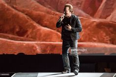 Bono of U2 performs during 'The Joshua Tree Tour 2017' at Ford Field on September 3, 2017 in Detroit, Michigan.