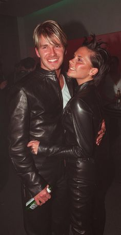 Pin for Later: 39 Pictures That Prove David and Victoria Beckham's Love Just Won't Quit  Victoria only had eyes for David during a June 1999 night out in London.