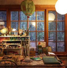 Katie Daisy - art studio