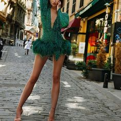 Casual Evening Dresses, Event Dresses, Sexy Dresses, Fashion Dresses, Together Festival, Couture, Hot, Sequin Skirt, V Neck