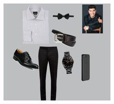 """Untitled #84"" by abbyblank7 on Polyvore featuring Ermenegildo Zegna, Maison Margiela, Church's, Rado, Saks Fifth Avenue Collection, Dolce&Gabbana, Just Mobile, men's fashion and menswear"