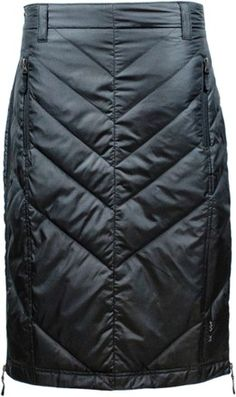 The Skhoop Mina Mid down skirt is an insulated skirt that keeps your core and upper legs warm. It's slightly longer in the back to protect you from the wind. Available at REI, Satisfaction Guaranteed. Thermal Pants, Smart Outfit, Cute Skirts, Ladies Dress Design, Modest Fashion, Ideias Fashion, Winter Jackets, Stylish, Womens Fashion