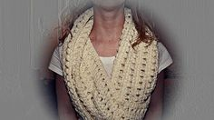 A nice cup of tea with a biscuit or three: Chunky Crochet Cowl