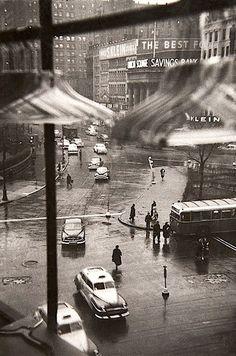 luzfosca:  Louis Faurer Union Square, New York City, 1950