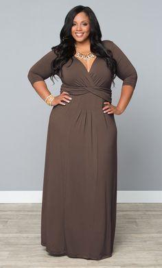 Check out the deal on Desert Rain Maxi Dress at Kiyonna Clothing