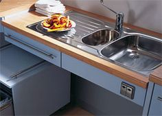 Accessible Kitchens Wheelchair Kitchen Design For The Handicapped I Like This Style Sink With The