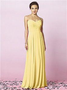 After Six Bridesmaids Style 6639    #yellow #bridesmaid #dress