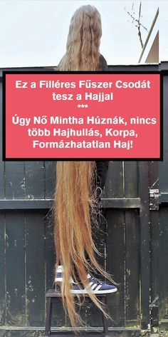 Haj vitamin: ettől a filléres fűszertől úgy nő mint ha húznák - Funland Vitamins, Fitness Motivation, Health Fitness, Hair Beauty, Long Hair Styles, Nature, Naturaleza, Long Hairstyle, Long Haircuts