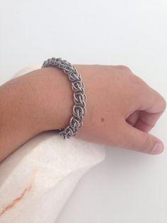 Stoere RVS armband