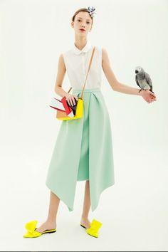 Delpozo Pre-Fall 2018 Fashion Show Collection