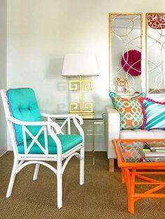 decorar con color y telas
