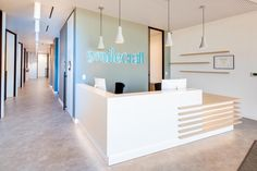 Staff Lounge, Dental Office Design, Clinic Design, Treatment Rooms, Wood Slats, Commercial Design, Front Desk, Dentistry, Kitchen Design