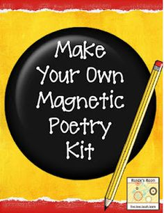 DIY Magnetic Poetry Kits free pdf download @ Runde's Room - SO doing this for my Work on Writing:))))