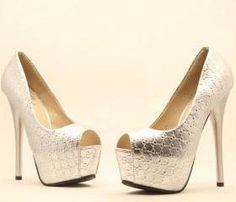 Fashion high-end high-heeled shoes fish head SC728CJ