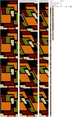 20 around tubular bead crochet rope pattern. Crochet Bracelet Pattern, Crochet Beaded Bracelets, Bead Crochet Patterns, Beading Patterns Free, Bead Crochet Rope, Seed Bead Patterns, Bracelet Patterns, Beaded Crochet, Beaded Jewelry Designs