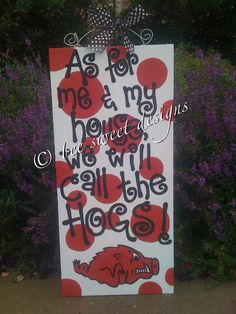 As+For+Me+&+My+House+We+Will+Call+the+HOGS++by+beesweetdesigns,+$50.00