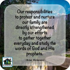 Study the words of God and His prophets - family scripture study tips!