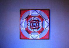 Sx de mantra  arte cadena geometría sagrada psychedelic