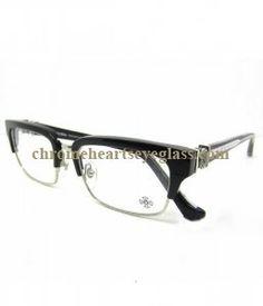 87b1b8a8e80 Chrome Hearts Eyeglasses FLAPS BK Half-rim Frames