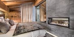 Ten minutes away from #Courchevel #village, the 550 square feet #chalet Gannat is a perfect mix between a contemporary and a #savoyard #design. The propriety is at the foot of the ski slopes and enables you to live an amazing #ski experience while being very close to the mythical village. #bedromm  www.lecollectionist.com