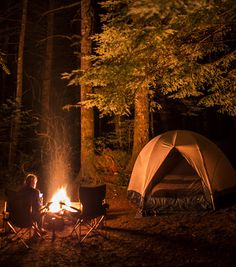 Let's go from candlelight to firelight.  Tonight and Friday, let's go CAMPING and explore THE GREAT OUTDOORS.