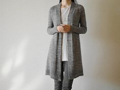 This is the long version of the Whippet cardigan. If you purchase both patterns (or bought the other one previously) you will receive 50% off the second one.