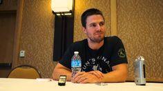 "Stephen Amell ""Arrow"" Season 2 Interview at San Diego Comic Con 2013"