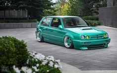 Feeling green today   @kellen_  @andrewhollidayphoto | #vrsociety #Volkswagen #VW #vr6 #schrick #vr6islife #mk3 #golf #mkiii #gti #stance #cleancars #stpatricksday #stpattysday #vwvortex #12valve #12v #cars #carsofinstagram #carswithoutlimits...