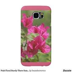 Pink Floral Barely There Samsung Galaxy S6 Case