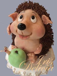 №4497 Ежик и яблоко