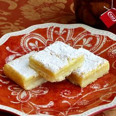 Super Easy Lemon Squares - easy is the operative word in this recipe with a simple 3 ingredient crispy shortbread bottom and a simple whisked together lemon custard top. A batch of these is not likely to last the day!