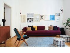 Maroon Accents: 5 Rooms that Get it Right | Apartment Therapy
