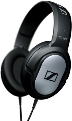 Sennheiser HD201 Closed Dynamic Stereo headphones - http://mixingmastering.co.uk/sennheiser-hd201-closed-dynamic-stereo-headphones/