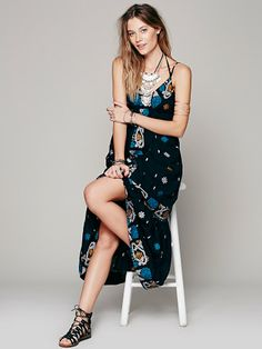 Free People Stitched With Love Maxi, $228.00