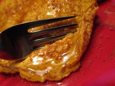 pumpkin protein pancakes - similar to the biggest loser pancakes. Made with cottage cheese and oats!