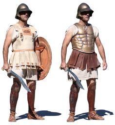 Macedonian Cavalry Armor - Linothorax & Musculata
