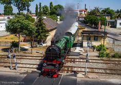 Yugoslav Railways class MÁV in Kispest Rail Transport, Rolling Stock, Steam Locomotive, Commercial Vehicle, Budapest, Transportation, World, Vehicles, Trains