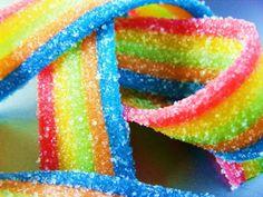 Rainbow candy yummy.