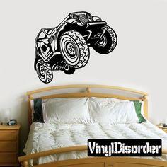 Dune Buggy Sand Rails Big Wheelers Trophy Trucks DC 028 Vinyl Decal Wall or Car Sticker Mural